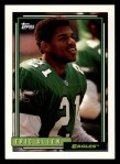1992 Topps #455  Eric Allen  Front Thumbnail