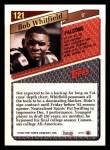 1993 Topps #121  Bob Whitfield  Back Thumbnail