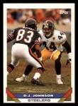 1993 Topps #46  D.J. Johnson  Front Thumbnail