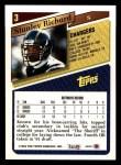 1993 Topps #3  Stanley Richard  Back Thumbnail