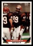 1993 Topps #161  Alonzo Mitz  Front Thumbnail