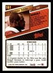 1993 Topps #161  Alonzo Mitz  Back Thumbnail