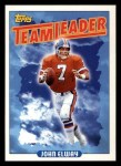 1993 Topps #264   -  John Elway Broncos Leaders Front Thumbnail