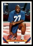 1993 Topps #392  Oliver Barnett  Front Thumbnail