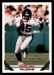 1993 Topps #403  Drew Hill  Front Thumbnail