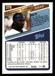 1993 Topps #379  Clarence Verdin  Back Thumbnail