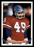 1993 Topps #347  Dennis Smith  Front Thumbnail
