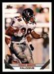 1993 Topps #344   -  Tony Smith Record Breaker Front Thumbnail