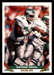 1993 Topps #337  Antone Davis  Front Thumbnail