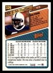 1993 Topps #326  O.J. McDuffie  Back Thumbnail