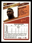 1993 Topps #437  Eric Curry  Back Thumbnail