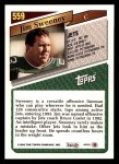 1993 Topps #559  Jim Sweeney  Back Thumbnail