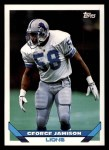 1993 Topps #613  George Jamison  Front Thumbnail