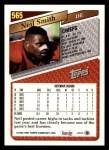 1993 Topps #565  Neil Smith  Back Thumbnail