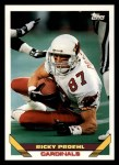 1993 Topps #610  Ricky Proehl  Front Thumbnail