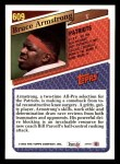 1993 Topps #609  Bruce Armstrong  Back Thumbnail
