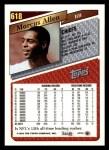 1993 Topps #618  Marcus Allen  Back Thumbnail