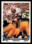 1993 Topps #478  Brad Muster  Front Thumbnail