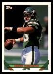 1993 Topps #638  James Thornton  Front Thumbnail