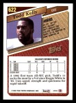 1993 Topps #622  Todd Kelly  Back Thumbnail