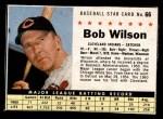 1961 Post #66  Bob Wilson  Front Thumbnail