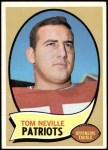 1970 Topps #161  Tom Neville  Front Thumbnail