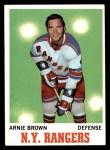 1970 Topps #66  Arnie Brown  Front Thumbnail