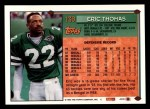 1994 Topps #139  Eric Thomas  Back Thumbnail