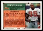 1994 Topps #24  Dwayne Sabb  Back Thumbnail