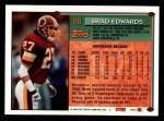 1994 Topps #88  Brad Edwards  Back Thumbnail
