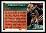 1994 Topps #78  Ken Ruettgers  Back Thumbnail