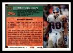 1994 Topps #195  Dan Williams  Back Thumbnail