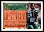 1994 Topps #162  Marvin Washington  Back Thumbnail