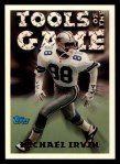 1994 Topps #203   -  Michael Irvin Tools of the Game Front Thumbnail