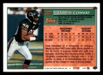1994 Topps #227  Curtis Conway  Back Thumbnail