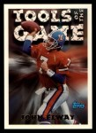 1994 Topps #196   -  John Elway Tools of the Game Front Thumbnail