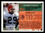 1994 Topps #308  Eric Turner  Back Thumbnail