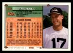1994 Topps #346  Jim Everett  Back Thumbnail