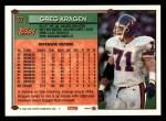 1994 Topps #371  Greg Kragen  Back Thumbnail