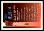 1994 Topps #396  Eric Mahlum  Back Thumbnail