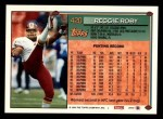 1994 Topps #420  Reggie Roby  Back Thumbnail