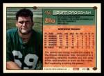 1994 Topps #456  Burt Grossman  Back Thumbnail