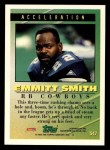 1994 Topps #547   -  Emmitt Smith Tools of the Game Back Thumbnail