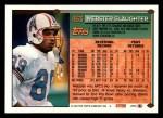 1994 Topps #463  Webster Slaughter  Back Thumbnail