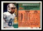 1994 Topps #463  Webster Slaughter  Back Thumbnail