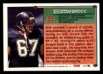 1994 Topps #511  Stan Brock  Back Thumbnail