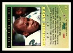 1994 Topps #541  Ronnie Lott  Back Thumbnail