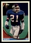 1994 Topps #629  Willie Beamon  Front Thumbnail