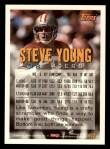1994 Topps #613  Steve Young  Back Thumbnail