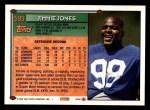 1994 Topps #599  Jimmie Jones  Back Thumbnail